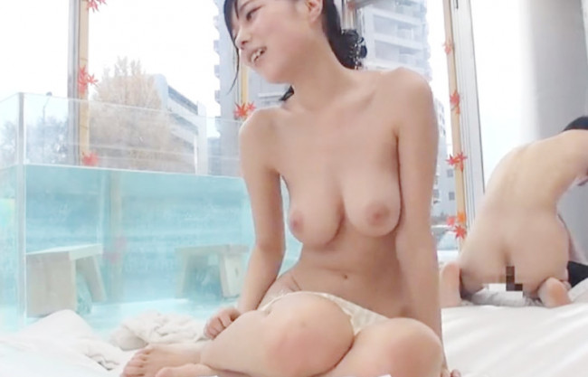 《混浴温泉×モニタリング》もぉだめぇええーーイッちゃうぅ♡女子大生の爆乳おっぱい露出で…友情崩壊の生ハメ絶倫セックス