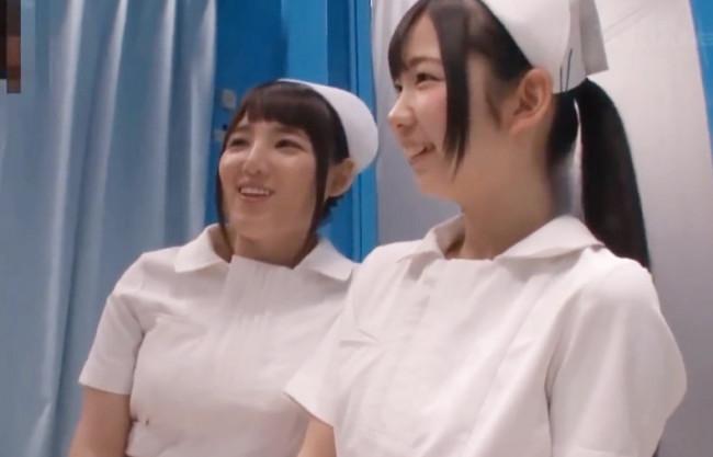 《マジックミラー号》ほんと…小っさい…♡包茎短小チンポのお悩みを看護師が癒やしの手コキ&フェラで発情ドSにノリノリ解決