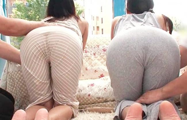 《素人ナンパ企画》マキシワンピの巨尻人妻が電マ刺激でイキ潮ガマンで…限界お漏らし♡マンスジくっきりの赤面潮吹き